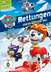 Paw Patrol DVD Vol 3 Rettungen im Winter